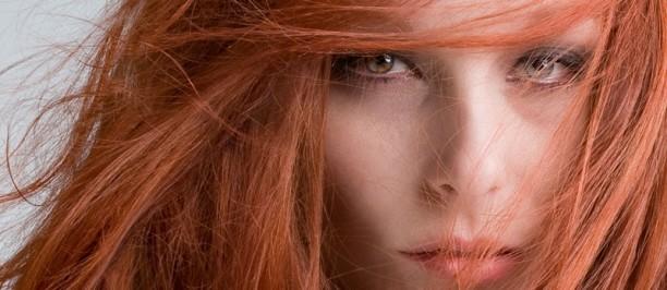 trucco capelli rossi